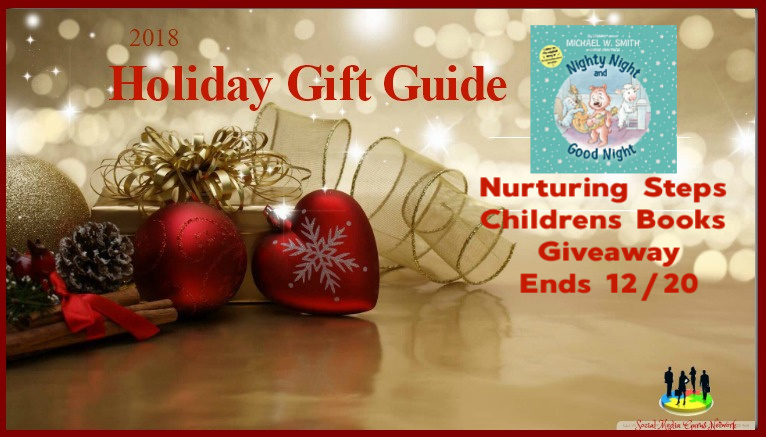 Nurturing Steps Children's Book #Giveaway Ends 12/20