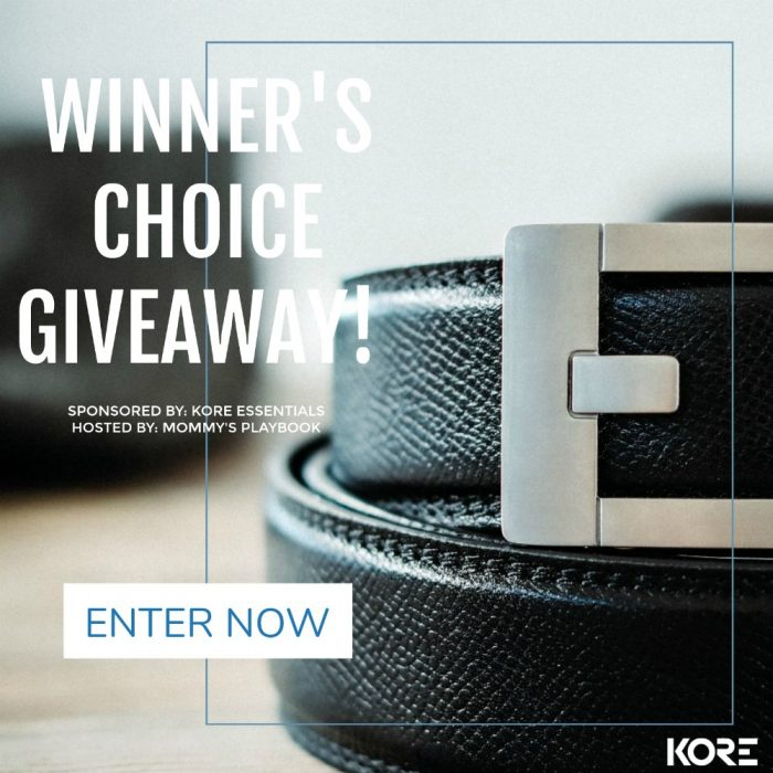 KORE Essentials Belt & Buckle Father's Day #Giveaway Ends 6/3