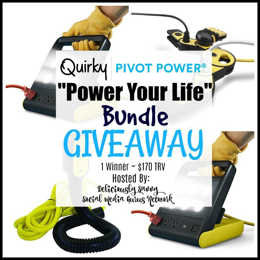 #QuirkyPowerPivot #Giveaway Ends 6/23 @Viatek @SMGurusNetwork