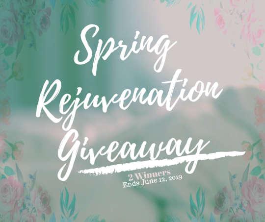 Spring Rejuvenation #Giveaway 2 Winners Ends 6/12 @rustic1773 @CraftyZoo @SMGurusNetwork