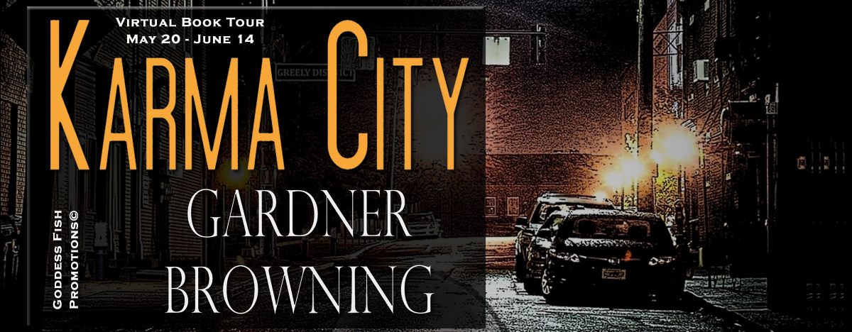 Interview with Gardner Browning, author of Karma City