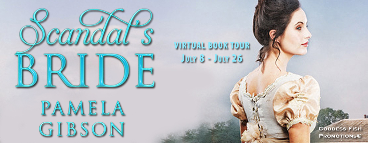 Meet Pamela Gibson, author of Scandal's Bride