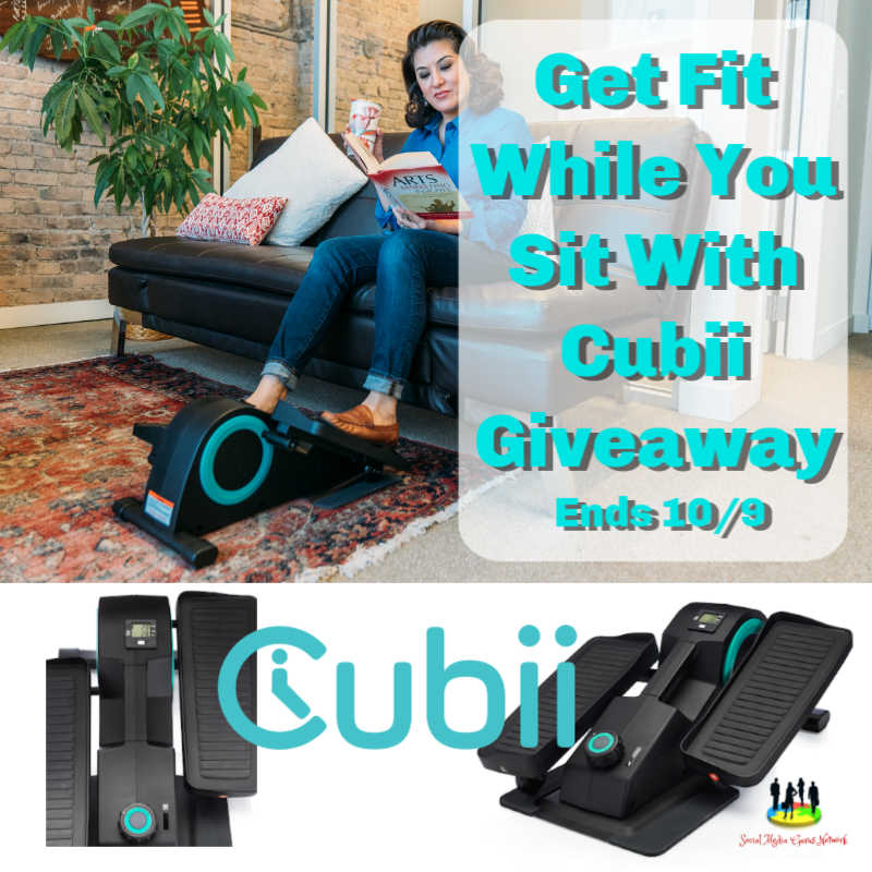 Get Fit While You Sit with @cubii #Giveaway Ends 10/9 @SMGurusNetwork @las930