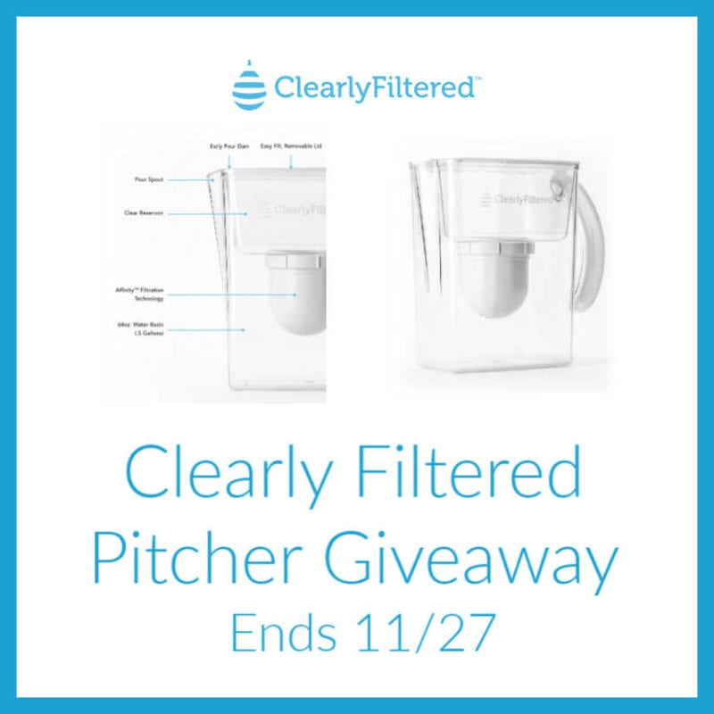 Enter the @ClearlyFiltered Pitcher #Giveaway Ends 11/27 @SMGurusNetwork @las930