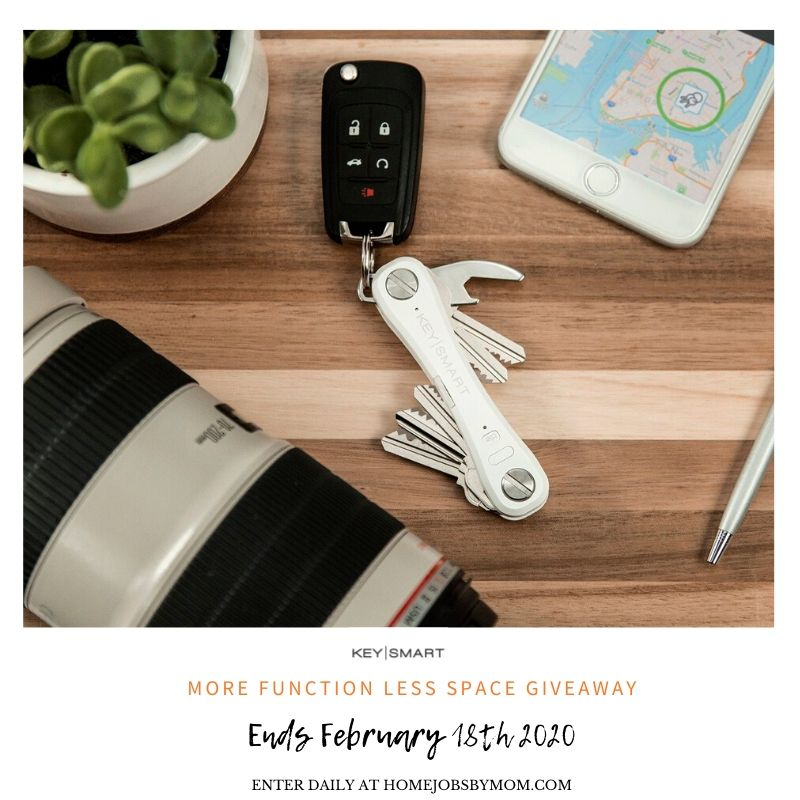 More Function, Less Space #Giveaway Ends 2/18 #LOVE20 @GetKeySmart @HomeJobsByMom @SMGurusNetwork