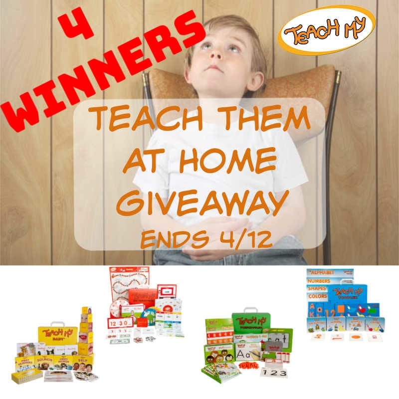 Teach Them at Home with @teachmy #Giveaway 4 Winners! Ends 4/12 @las930