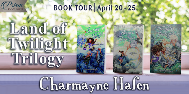 Land of Twilight Trilogy by Charmayne Hafen #BookTour Grand Finale and #Giveaway #LOTPrism