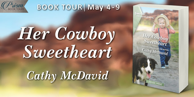 Her Cowboy Sweetheart by Cathy McDavid #HCSPrism #BookTour Grand Finale with #Giveaway