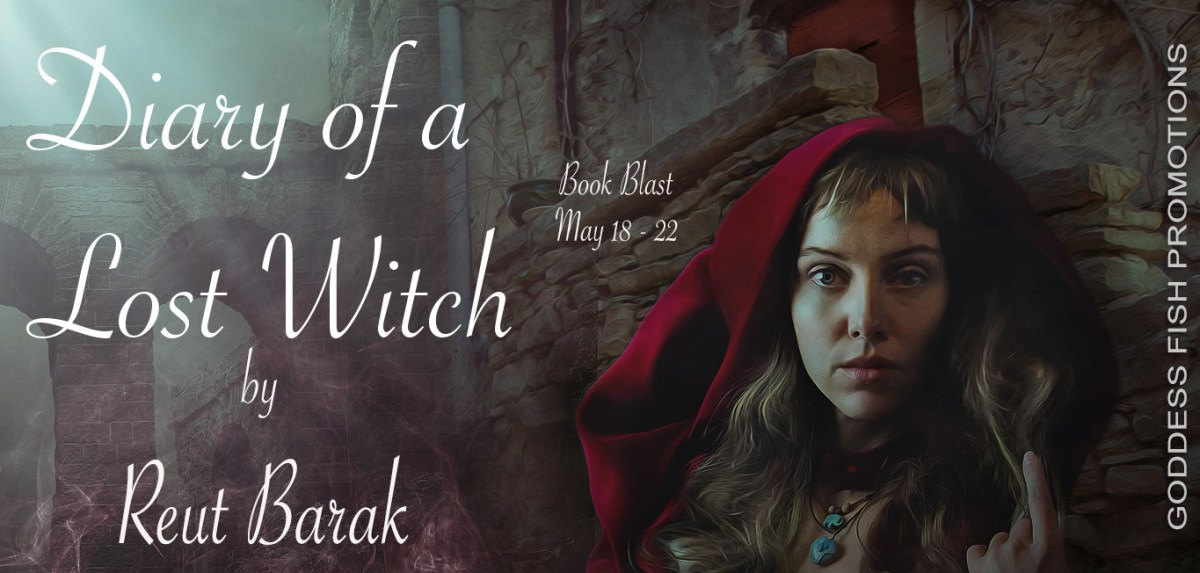 Diary of a Lost Witch by Reut Barak Blast with #Giveaway