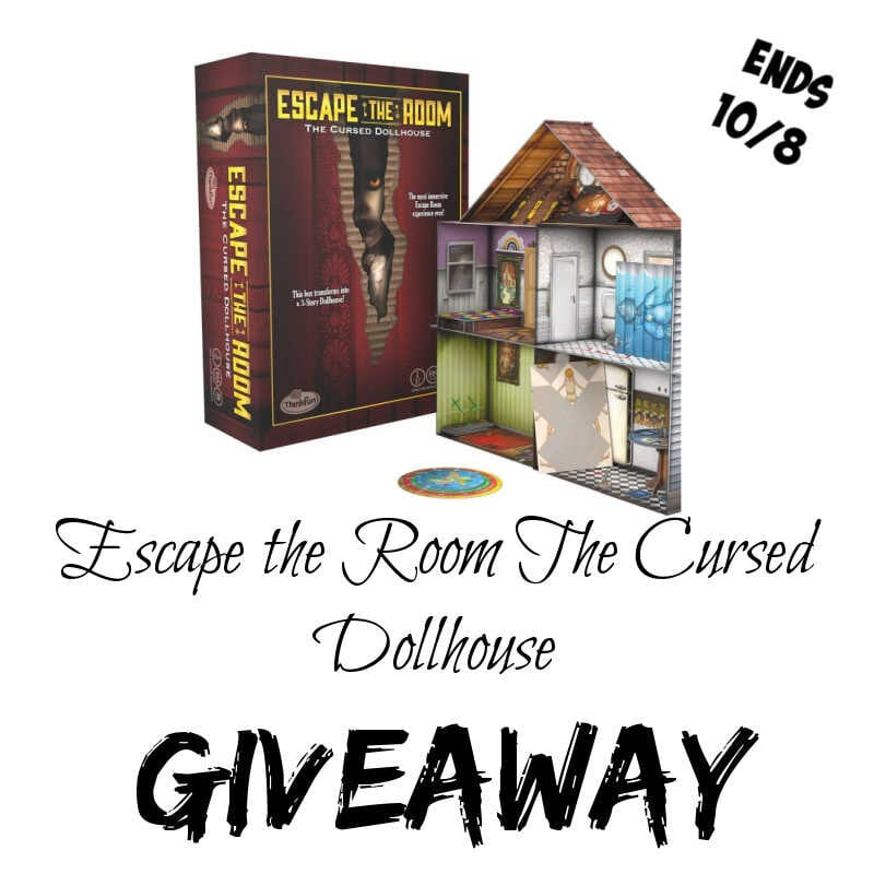 Escape the Room: The Cursed Dollhouse #Giveaway Ends 10/8 @las930 @ThinkFun