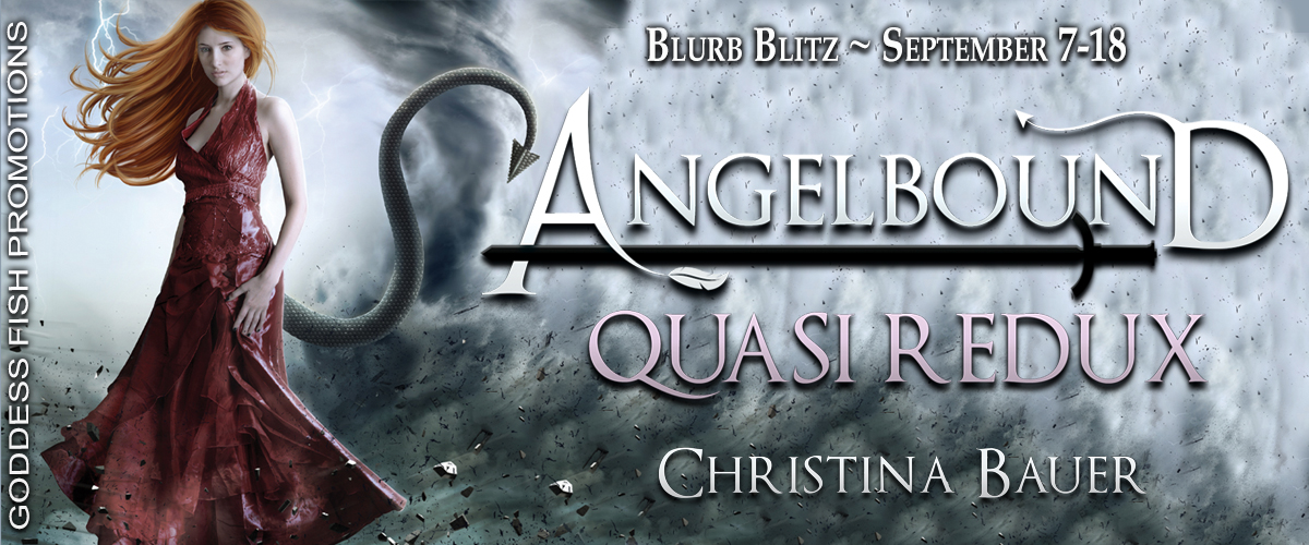 Quasi Redux by Christina Bauer with #Giveaway