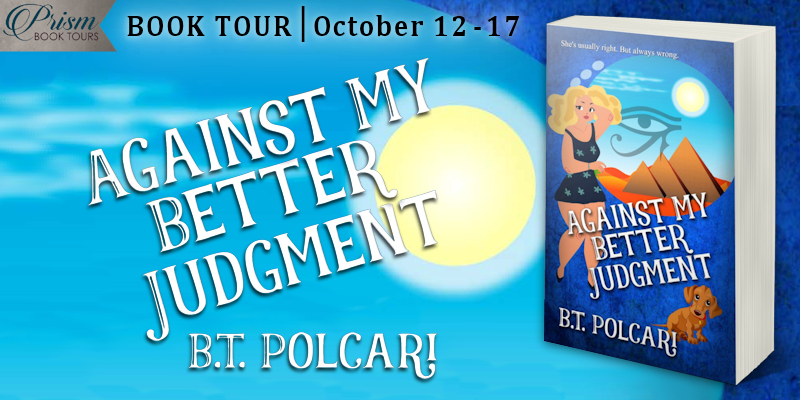 #Interview with B.T. Polcari, author of Against My Better Judgment with #Giveaway #AJPrism