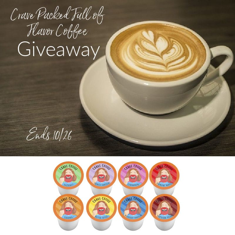 Crave Packed Full of Coffee #Giveaway Ends 10/26 @BrooklynBeans1 @las930