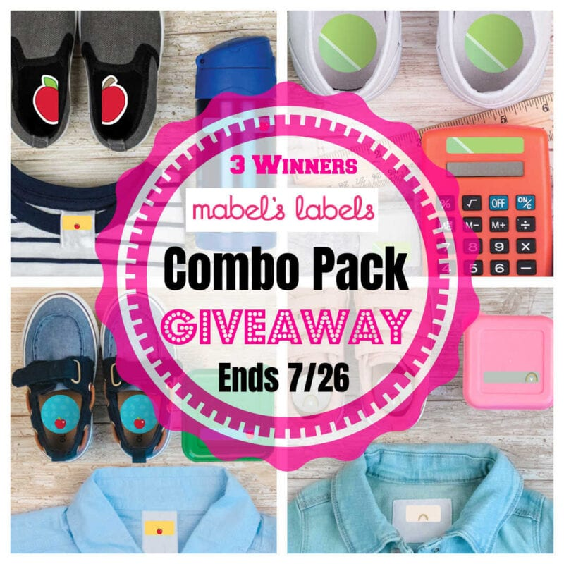 Mabel's Labels Combo Pack #Giveaway 3 Winners Ends 7/26 @mabelhood @las930