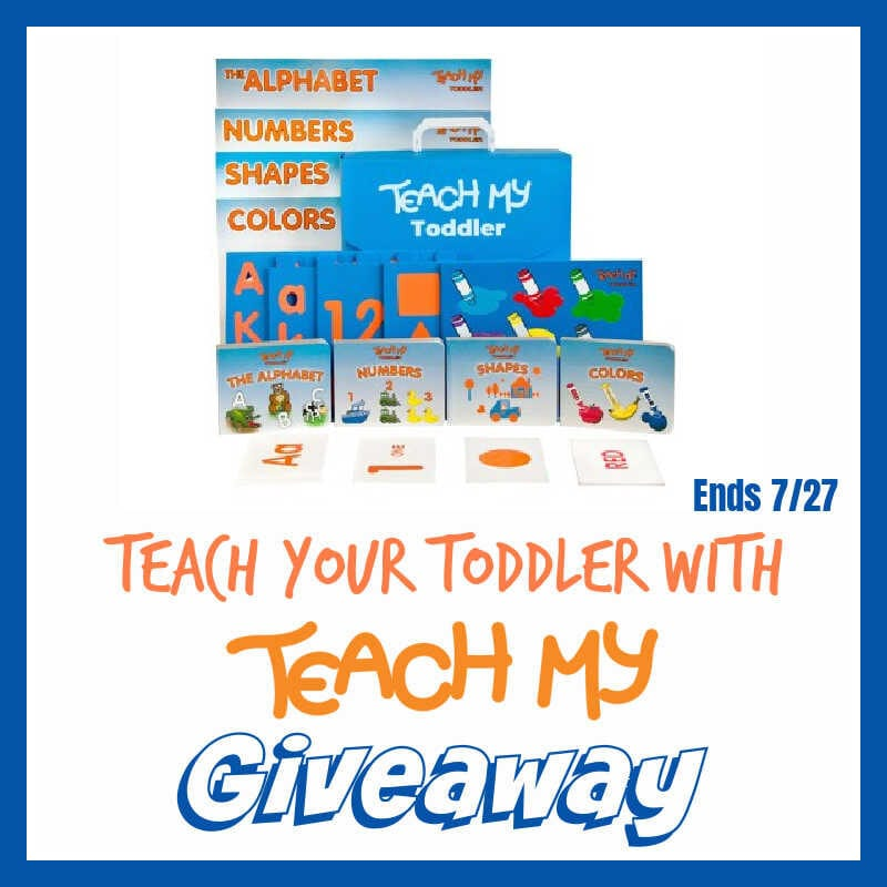 Teach Your Toddler with @TeachMy #Giveaway Ends 7/27 @las930