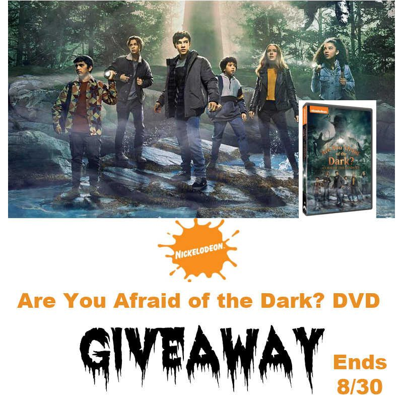 Are You Afraid of the Dark DVD #Giveaway Ends 8/30 @Nickelodeon @s8r8l33