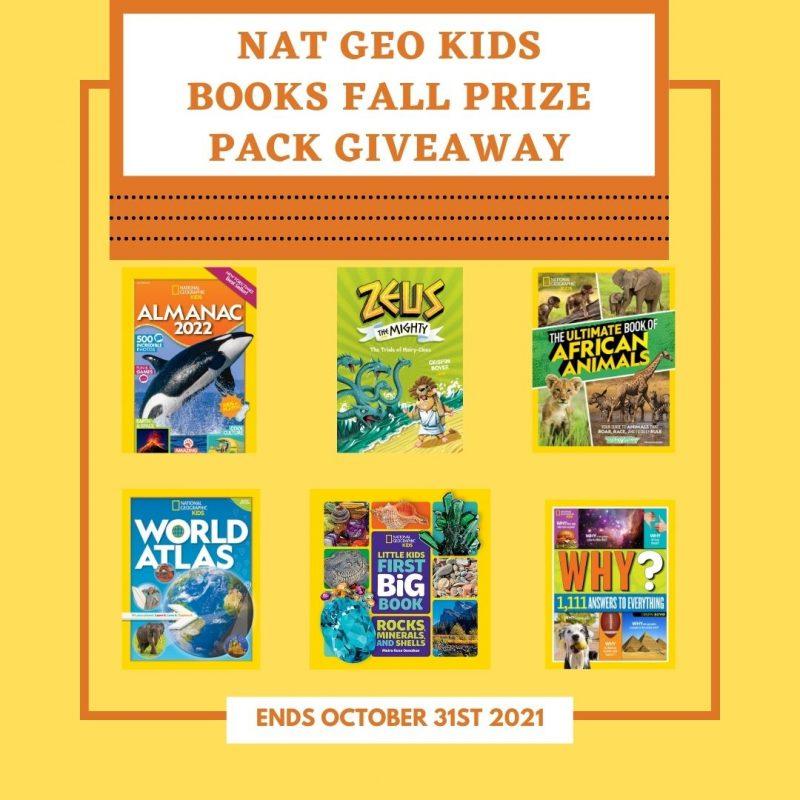 Nat Geo Kids Books Fall Prize Pack #Giveaway Ends 10/31 @NGKidsBks @HomeJobsByMom