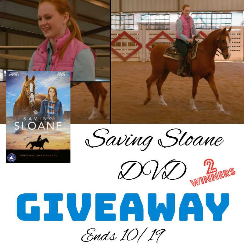 Saving Sloane DVD Giveaway – 2 Winners Ends 10/19 @las930