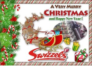 Christmas Swizzels Hamper Candy Cabin Traditional Sweet Shop