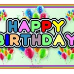 Happy Birthday The Candy Cabin Traditional Online Sweet Shop