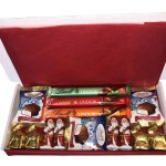 Lindt Christmas Hamper Medium1 The Candy Cabin Traditional Online Sweet Shop
