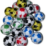 Chocolate Foil Footballs Candy Cabin Ltd Traditional Online Sweet Shop