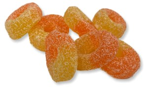 Fizzy Peach Rings Candy Cabin Ltd Traditional Online Sweet Shop
