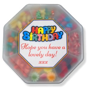 Summer Platter with Label Candy Cabin Ltd Traditional Online Sweet Shop