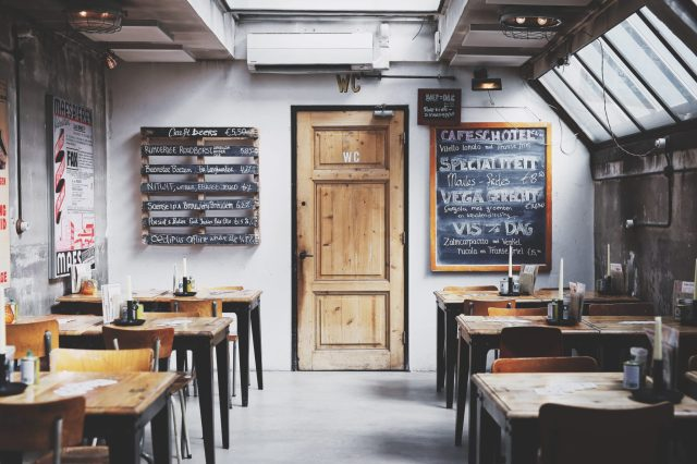 Small Restaurant interior Design to put a big smile on your customers  faces
