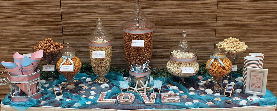 JOandJARS_CandyBuffet_Wedding_PopcornBuffet_TrinityChristianCentre_PayaLebar_Beach_Pink_Blue