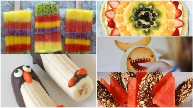 Las frutas más lindas y entretenidas que verás.  Fuente: Upsocl
