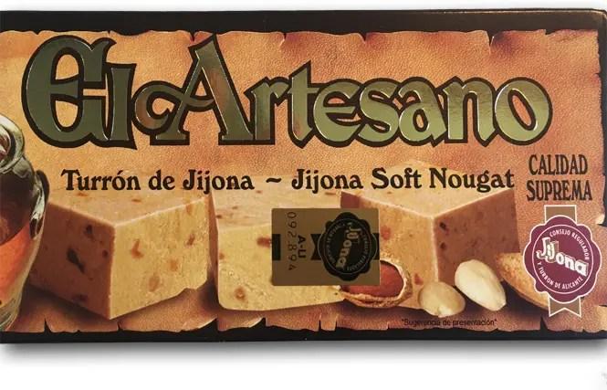 El Artesano's Turron de Jijona: Straight Up Nougat