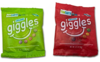 Giggles & Sour Giggles from Yum Earth