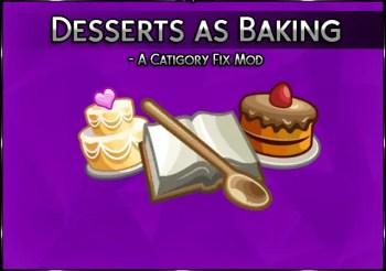 ▷ Dessert as Baking par Srslysim's