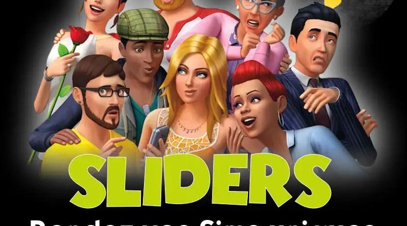 sliders sims 4