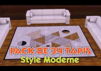 ▷ Pack de 34 Tapis Modernes & Design par AdonisPluto