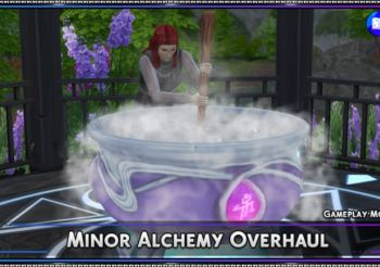 ▷ Minor Alchemy Overhaul par SrslySims