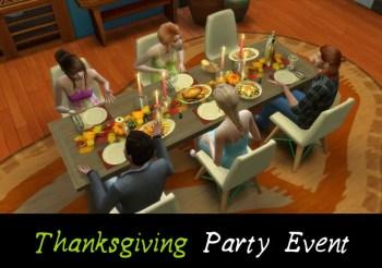 ▷ Thanksgiving Party par MSQSims