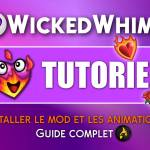 installer les animations wicked whims
