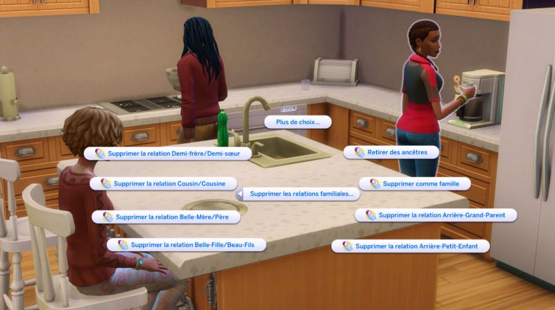 famille sims 4