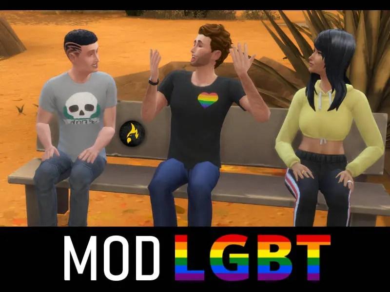 ▷ Mod LGBT pour Les Sims4 par PimpMySims4
