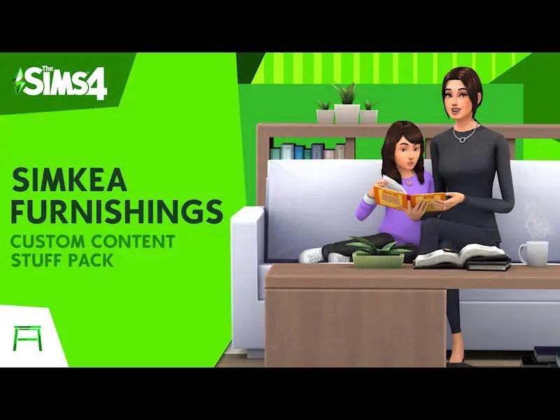 ▷ Pack d'Objets Simkea par Illogical Sims