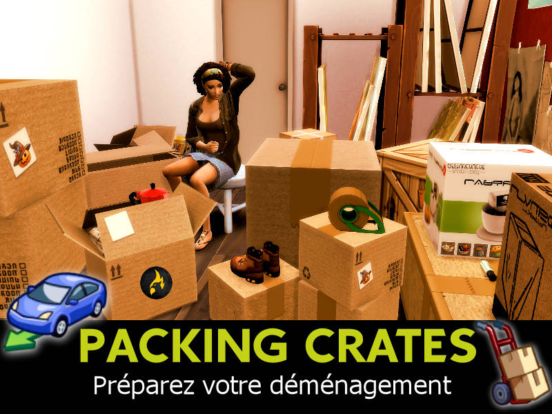 packing crates mod sims 4