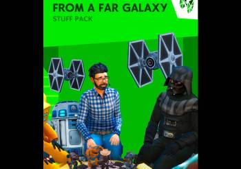 "▷ Pack d'objets ""Star Wars – Galaxie Lointaine"" pour les Sims 4"