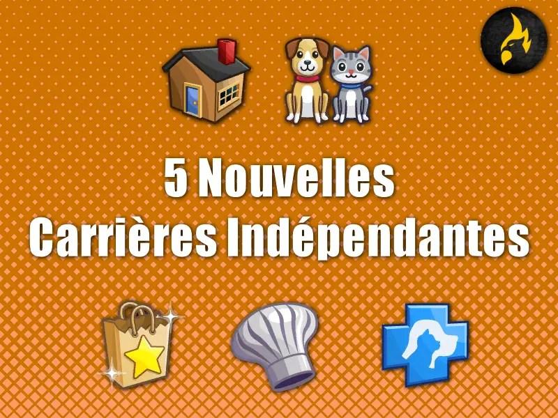 ▷ 5 Nouvelles Carrières Indépendantes par Neia