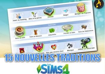▷ 15 Nouvelles Traditions pour vos Sims