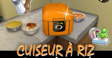 cuiseur à riz sims 4