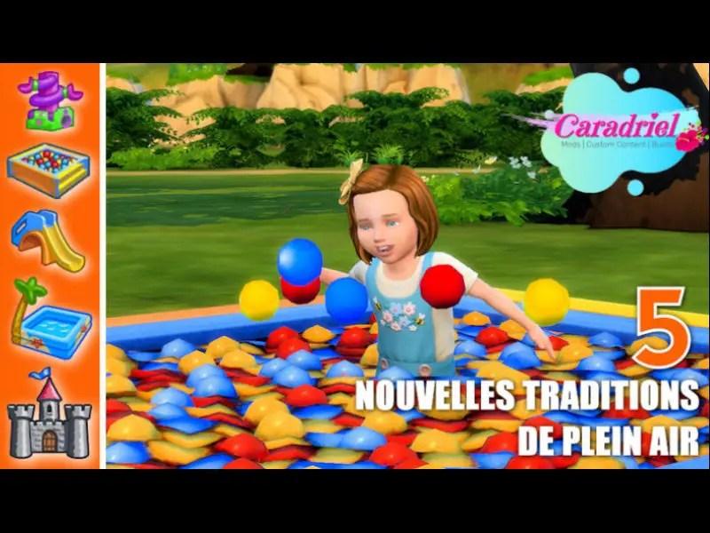 ▷ 5 Traditions de Plein Air pour les Petits Sims