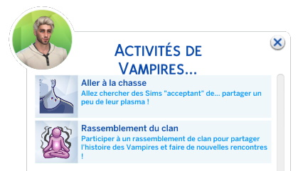 mod vampires sims 4