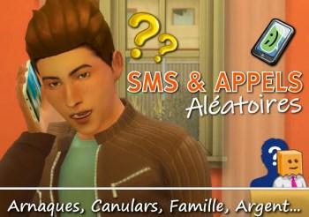 ▷ SMS et Appels Aléatoires pour les Sims 4